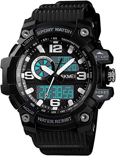 Reloj deportivo para exteriores, multifunción, 3 veces, cronómetro, temporizador, fecha, alarma, semana, sistema de 12/24 horas, estilo 5