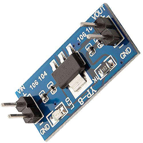 AZDelivery AMS1117 3.3V Power Supply Step Down Voltage Regulator Module for Arduino including eBook