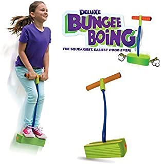 Geospace The Original Deluxe Bungee Boing! by The Squeakiest, Easiest Pogo Ever! for Kids 3 Years and Up