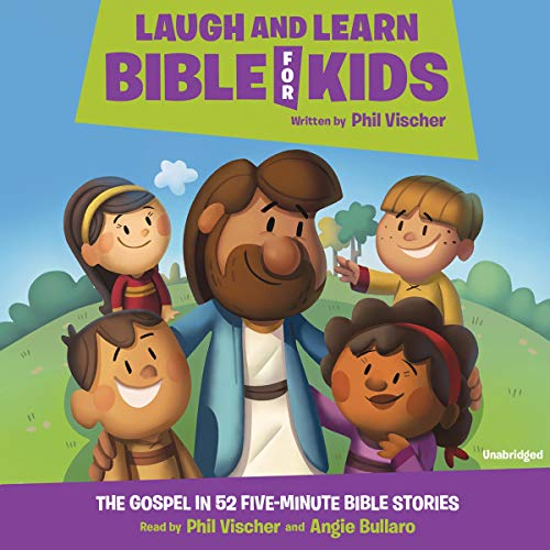 Laugh and Learn Bible for Kids audiobook cover art