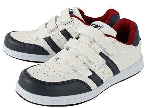自重堂/Z-DRAGON/先芯入り作業靴 スニーカータイプ/セーフティシューズ(マジックタイプ) 037 ホワイト 26cm