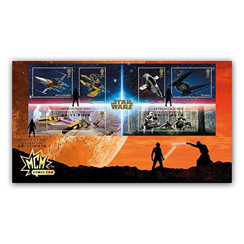 Internetstamps Group Ltd Star Wars 2019 - Juego de sábanas en Miniatura para Primer día