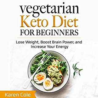 Vegetarian Keto Diet for Beginners cover art
