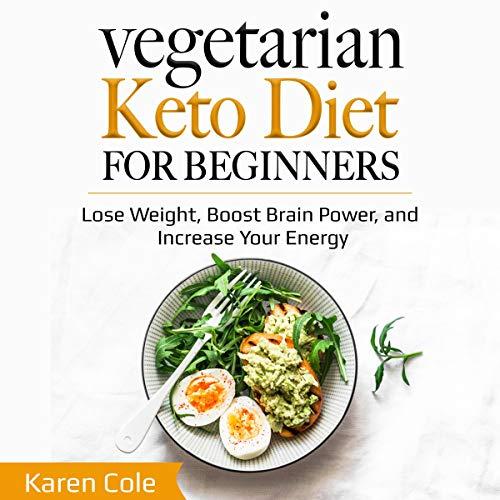 Couverture de Vegetarian Keto Diet for Beginners