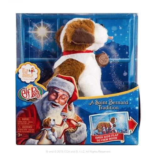 Elf on The Shelf Pets: A St. Bernard Tradition Plush