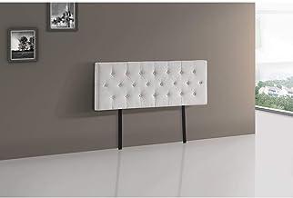 Linen Fabric Queen Bed Deluxe Headboard BedHead - 80mm Thick Beige