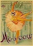 WDQFANGYI Península De Crimea, Unión Soviética, URSS, Cartel De Paisaje De Viaje, Arte De Pared, Decoración Retro para Habitación del Hogar, Carteles 40X50Cm (FLL6791)