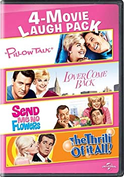 Pillow Talk / Lover Come Back / Send Me No Flowers / The Thrill of It All 4-Movie Laugh Pack [DVD]