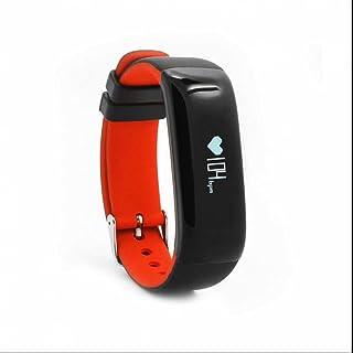 Pulseras Actividad,Pulsera Inteligente con Pulsómetro,Pódometro,Monitor de Sueño,Monitor de Actividad,Notificación de Mensaje,Control Remoto de Móvil para Andriod Teléfono e iPhone