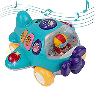 DeXop Baby Airplane Music Toy, Toddlers Toys with Light...