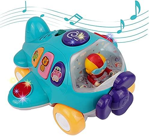 DeeXop Bebe Juguete,Juguete Familiar Interactivo con Luces y música,Ideas de Regalos para niños y niñas a Partir de 18 Meses