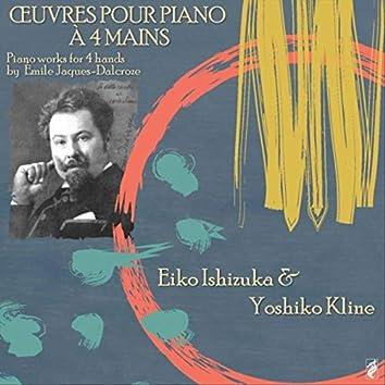 Œuvres Pour piano à 4 mains