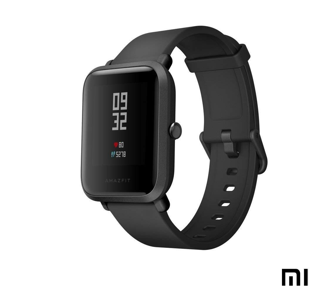 Amazfit Bip Smartwatch Monitor de Actividad Pulsómetro Ejercicio Fitness Reloj Deportivo (Versión Internacional) Negro/Black: Amazon.es: Electrónica
