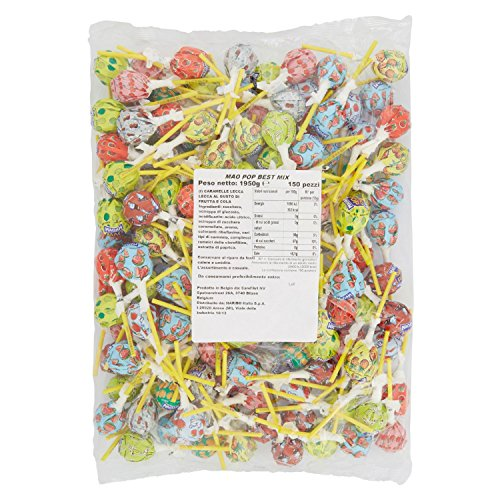 Haribo Caramelle Mao Pop Refill Best Mix - 150 pezzi [1950g]