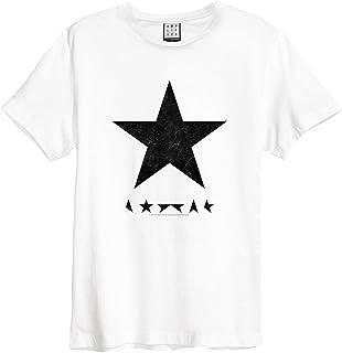 DAVID BOWIE デヴィッド・ボウイ (Space Oddity発売50周年記念) - BLACK STAR/Amplified( ブランド ) / Tシャツ/メンズ 【公式/オフィシャル】