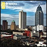 Alabama Calendar 2022: 18 Month Calendar Alabama, Square Calendar 2022, Cute Gift Idea For Alabama Lovers Women & Men, Size 8.5 x 8.5 Inch Monthly