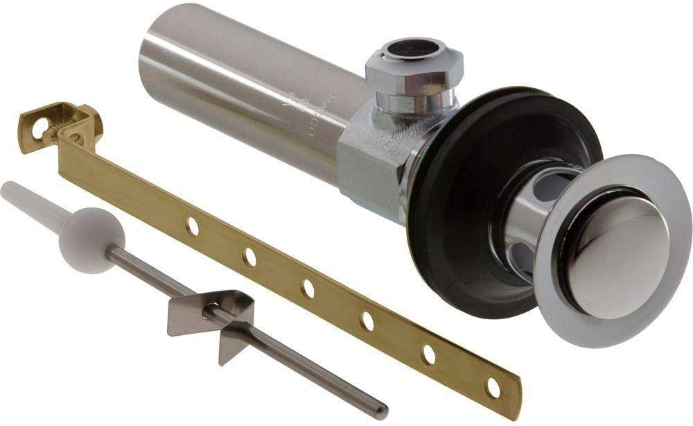 Unknown1 55% OFF Metal Drain Assembly Less Chrome Lift Jacksonville Mall Grey Rod Bathroom