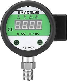Digital Hydraulic Gauge, 0~1.6Mpa Digital Remote Pressure Gauge Meter Various Scales M201.5mm Thread Connection for Air Water Base Entry Pressure Gauge
