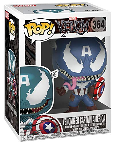 Funko POP!: Marvel: Capitán América venomizado