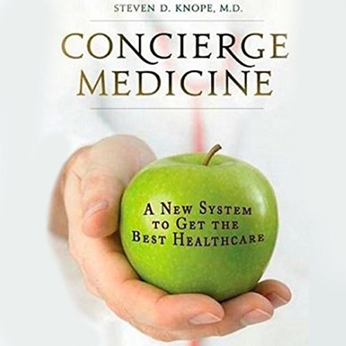 Concierge Medicine audiobook cover art