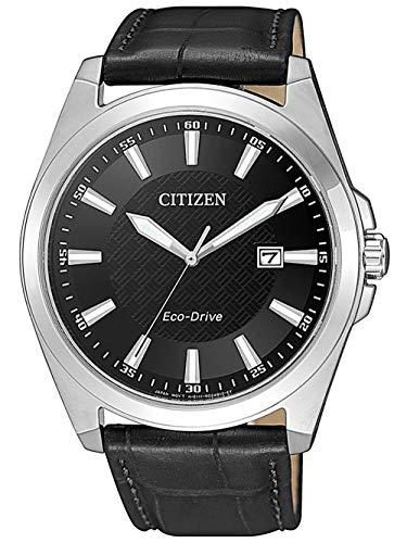 CITIZEN Eco-Drive Saphire Herren Armbanduhr BM7108-14E