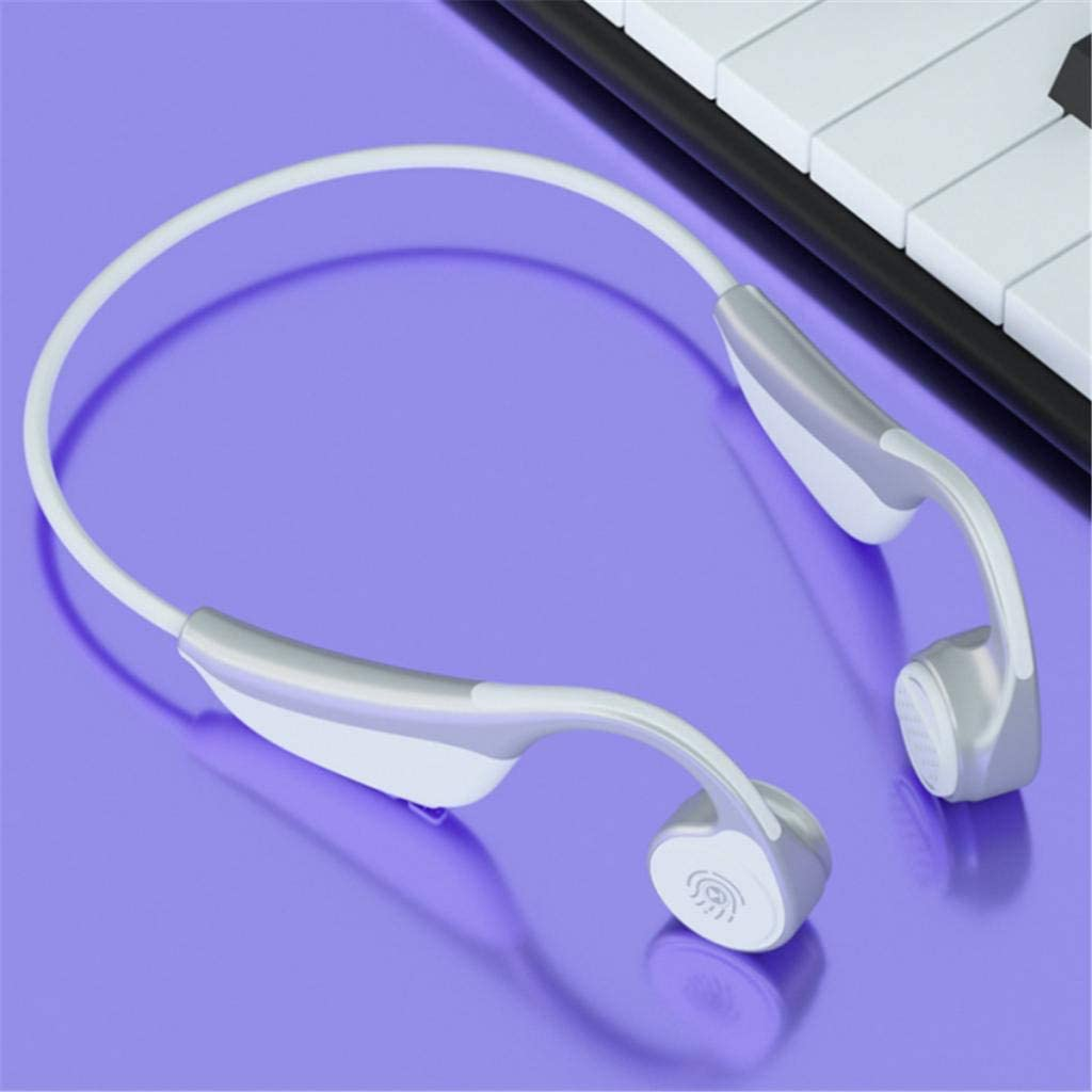 #N/A V9 Wireless Touch Control Stereo Earphone Headset Headphone For Sports Gift - Red White