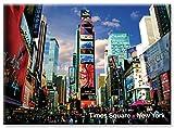 Times Square - New York City Photo Souvenir Refrigerator Magnet - NYC Fridge Magnets