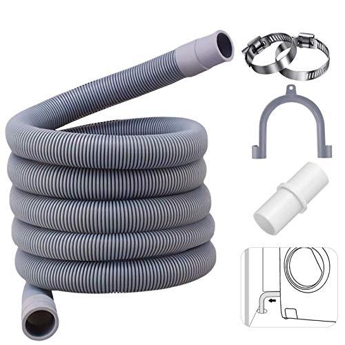Ablaufschlauch für Waschmaschinen,3M Ablaufschlauch,Ablaufschlauch für Spülmaschinenschlauch,Ablaufschlauch Verlängerung,Ablaufschlauch Verlängerung,Verlängerung Ablaufschlauch (C)