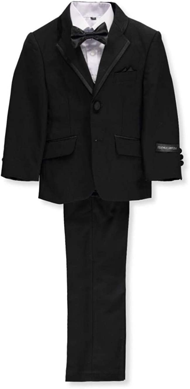 All New color items in the store Kids World Little Boys' 5-Piece Toddler Tuxedo
