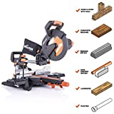 Evolution Power Tools R255SMS+ 10' Multi-Material Compound Sliding Miter Saw...