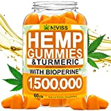 Hemp Gummiés with Turmeric & Bioperine 50000 MG, Hemp Gummiés for Pain