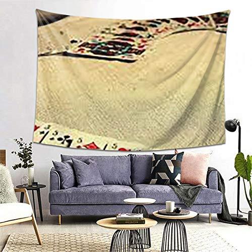 Kasonj Tapiz de gatos con ojos azules para mascotas, decoración del hogar, decoración de pared para dormitorio, sala de estar, colcha, cama de pícnic, 203 x 152 cm