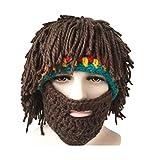 Da.Wa Vagabond Bild Lustige Hüte Wintermütze mit Bart für Weihnachtstag oder Eine Maskerade - 9