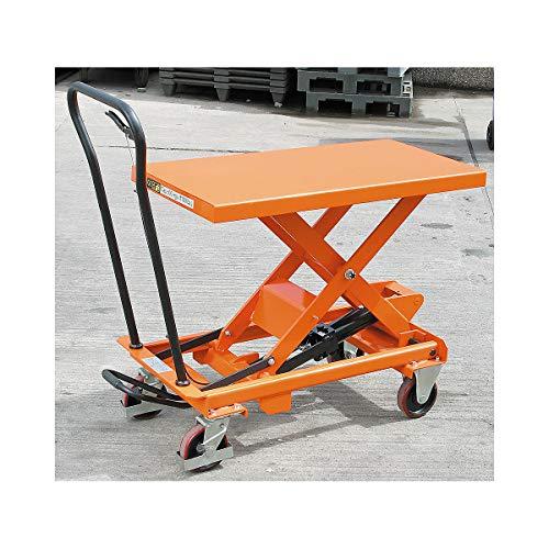 Certeo Hubtisch | Tragfähigkeit 500 kg | Hubwagen Hubplattformwagen Hubtischwagen Plattformwagen