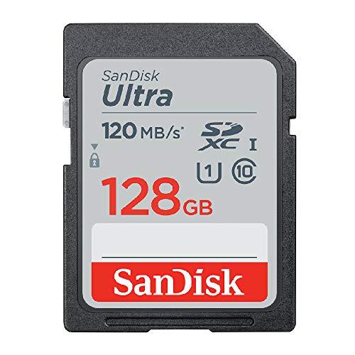 【 サンディスク 正規品 】 SDカード 128GB SDXC Class10 UHS-I 読取り最大120MB/s SanDisk Ultra SDSDUN4-128G-GHENN エコパッケージ