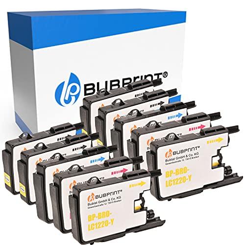 10 Bubprint Cartuchos de Tinta Compatible para Brother LC-1220 LC-1240 para DCP-J525W DCP-J725DW DCP-J925DW MFC-J430W MFC-J5910DW MFC-J625DW MFC-J6510DW MFC-J6710DW MFC-J6910DW MFC-J825DW Multipack