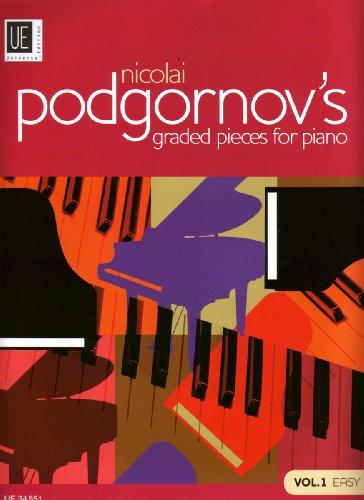 Nicolai Podgornov's Graded Pieces for Piano