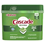 Cascade ActionPacs, Dishwasher Detergent Pods, Fresh Scent, 60 count