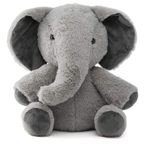 Prextex Plushlings Collection 10.5-Inch Plush Stuffed Elephant - Soft & Cozy Stuffed Plush Elephant