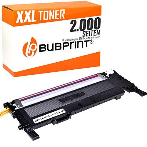 Bubprint Toner kompatibel für Samsung CLT-M4092S/ELS für CLP-310 CLP-310N CLP-315 CLP-315N CLP-315W CLX-3170FN CLX-3170N CLX-3175 CLX-3175FN CLX-3175FW CLX-3175N Magenta