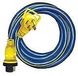 Voltec RV Trailer Pro Series 35Ft 50/50Amp RV Locking Cord - 16-00587 Extension Cord