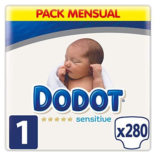 Dodot Sensitive Couches 280 Unidad