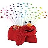 Pillow Pets Elmo Sleeptime Lite-Sesame Street Plush, Red