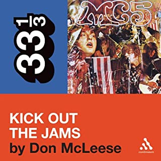 MC5's 'Kick Out the Jams' (33 1/3 Series) cover art