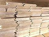 Perline sottotetto abete non trattato qualità commerciale sp.mm.20 pz.5. Made in Italy. (mm.20x120x2000 mq.1,08)