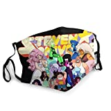 Steven Universe Future Tv Series Animation Face Cover Reusable Washable Mouth Cover Face Scarf Balaclava Daily Use Dustproof Windproof