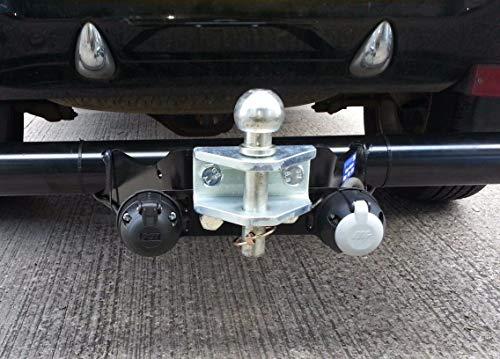 Universal-Anhängerkupplung mit Kugelkopf & Bolzen