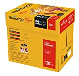 NAVIGATOR Colour Documents - Caja con folios de papel multifunción, 8 paquetes de 250, 120 g/m²