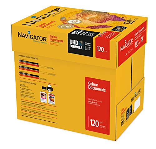 Kopierpapier Navigator A4 120G 8 x 250Bl Weiss Colou Kopierer/Laser/Inkjet