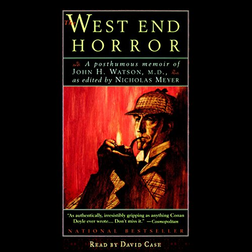 The West End Horror audiobook cover art